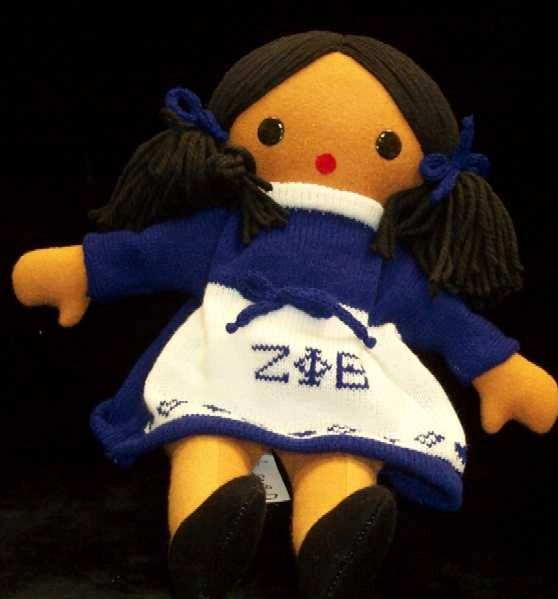 ZETA PHI BETA Doll