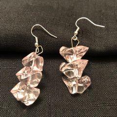 Pink Ice Earrings