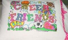 Cheer Friend Pillowcase