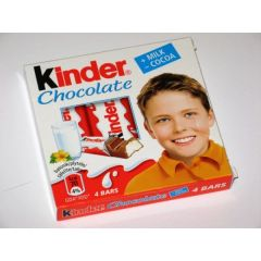 Kinder 4 Pack Chocolate Bars