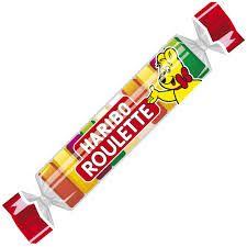 Haribo Mini Gummy Roulettes