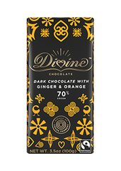 Divine Dark Chocolate With Orange And Ginger