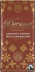 divine seriously smooth milk chocolate