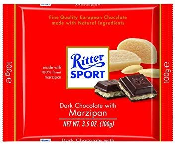 Ritter Sport Dark With Marzipan