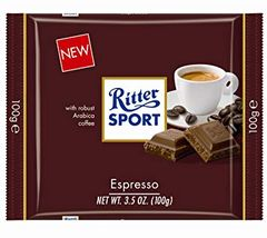 Ritter Sport Milk Chocolate With Espresso