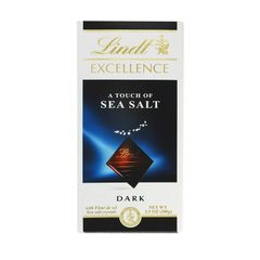 Lindt Dark chocolate With Sea Salt