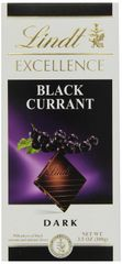 Lindt Excellence Dark Chocolate with Black Currant