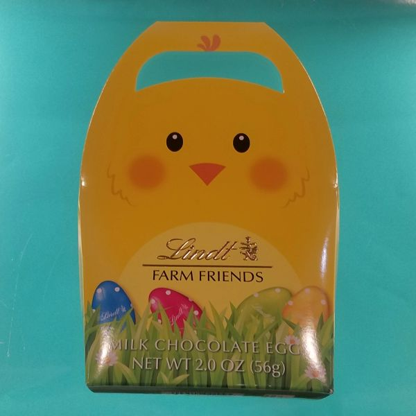 Lindt Farm Friends Milk Chocolate Eggs
