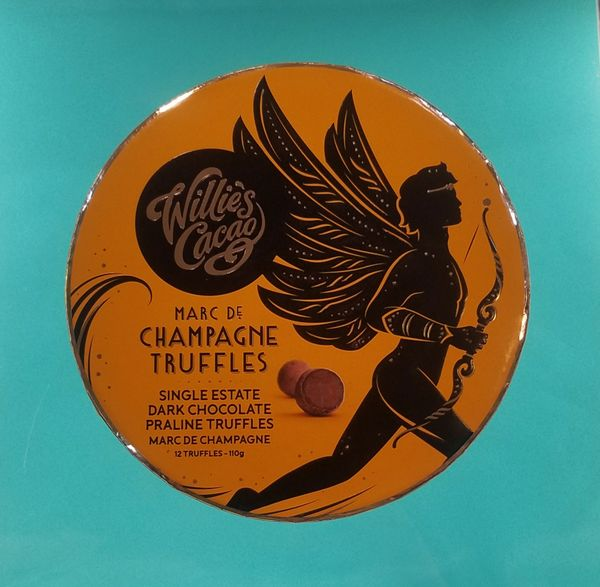 Willie's Cacao Marc de Champagne Truffles
