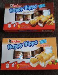 Happy Hippo Cocoa or Hazelnut