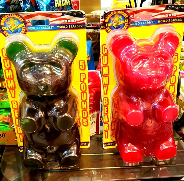Giant 5 pound Gummy Bear