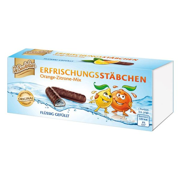 De Beukelaer Chocolate Orange & Lemon Refreshment Sticks