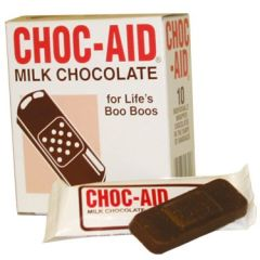 Choc-Aid Milk Chocolate Band-Aids