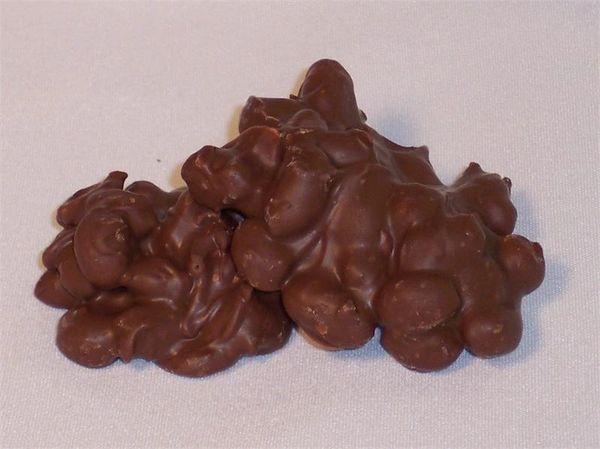 Sugar Free Milk Chocolate Peanut Clusters