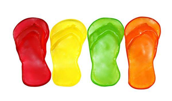 Gummy Flip Flops