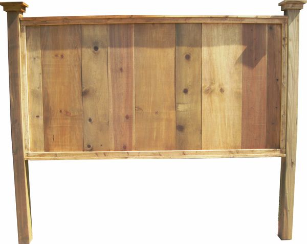 Texas Plank Wood Headboard