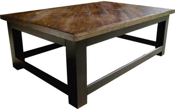 Oak Top Coffee Table
