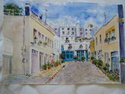 mews watercolor
