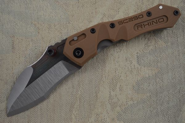 Dwaine Carrillo M5 Scout, Coyote Brown (SOLD)