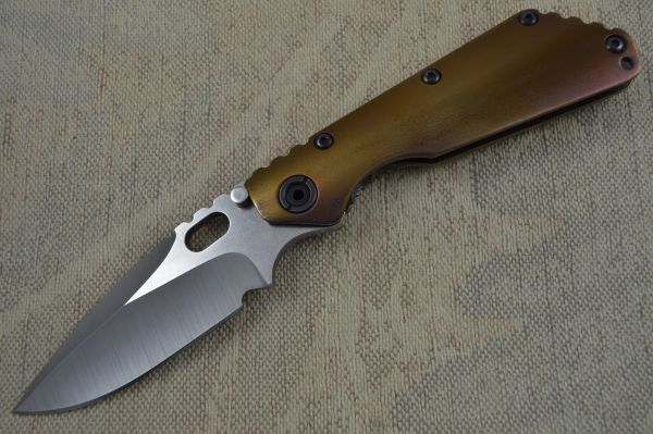 Mick Strider Custom (MSC) Frame Lock Titanium Handled SMF (SOLD)