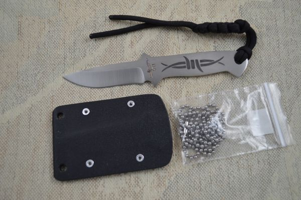 "Kevin Hoffman KLH ""The Barb"" Neck Knife (SOLD)"