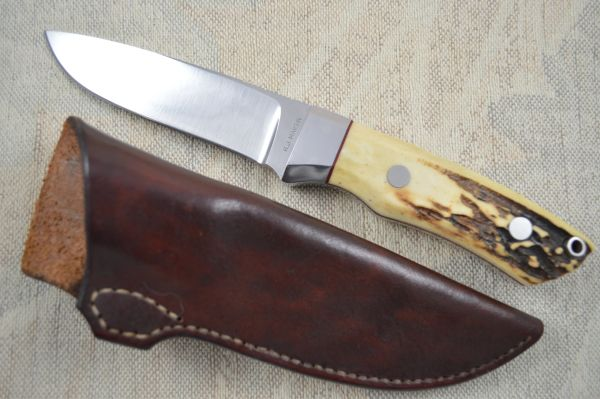 R.J. Martin Drop Point Stag Hunter, Serial #02 (SOLD)