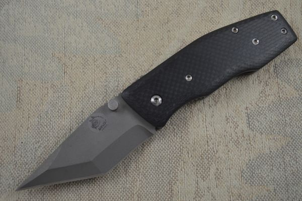"Mike Franklin HAWG Knives ""The Big Ugly"" Folding Liner Lock Knife (SOLD)"