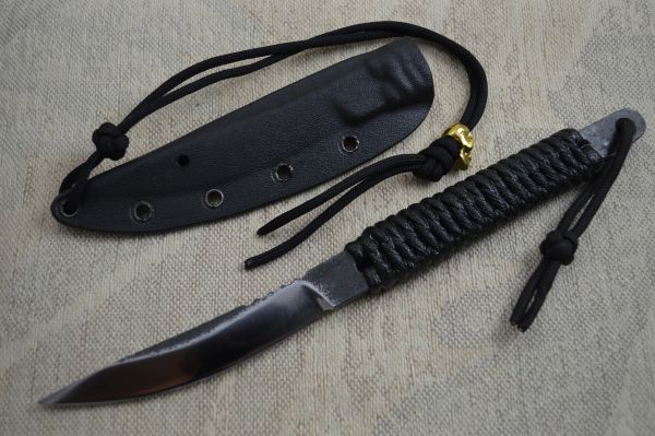 "G.H.K. ""Tribal Scalpel"" Fixed Blade Hunting Knife (SOLD)"