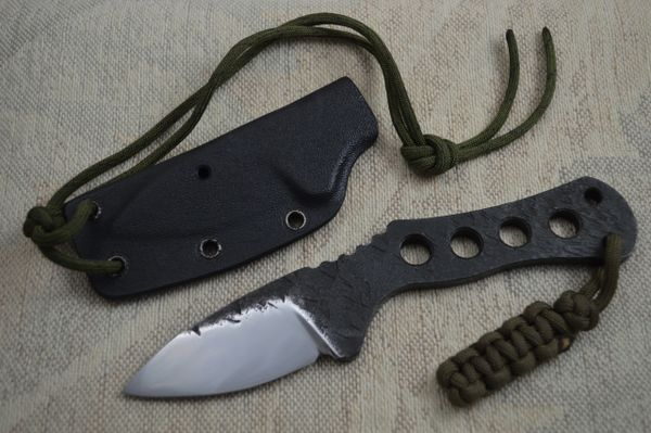 "G.H.K. ""Brut De Forge"" Fixed Blade Hunting Knife (SOLD)"
