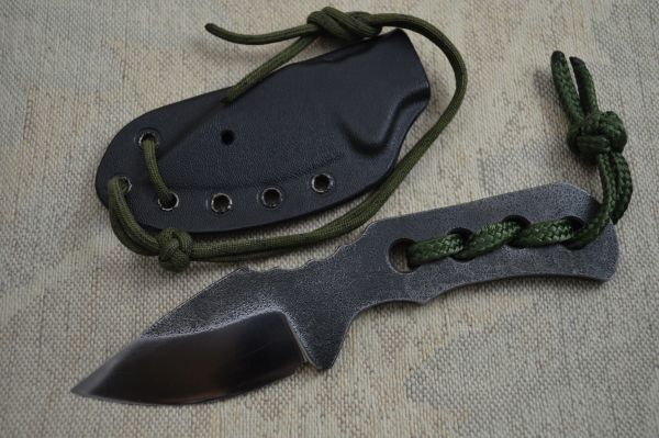 "G.H.K. ""Pocket Bowie"" Fixed Blade Skinning Knife (SOLD)"