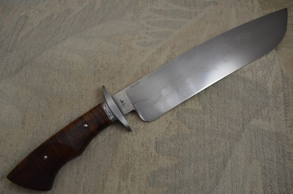 "John White, MS, 10 1/4"" W-2 Camp Knife with ""Buffalo Hamon"" (SOLD)"