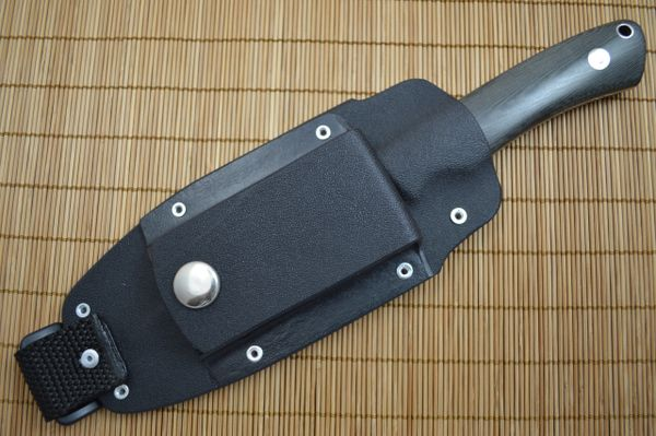 "Kevin Hoffman KLH ""Backpacker"" Fixed Blade Knife, Kydex Sheath"