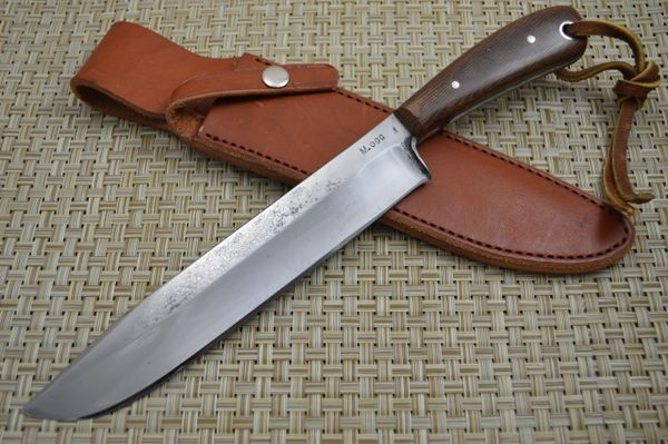 "Ogg Custom Knives, Max Burnett ""Oggstra Kamper"" Fixed Blade"