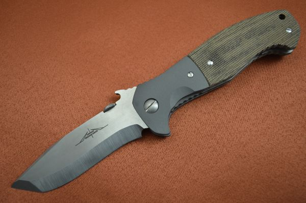 Ernie Emerson Custom CQC-15, Waved, Specwar Knives Logo (SOLD)