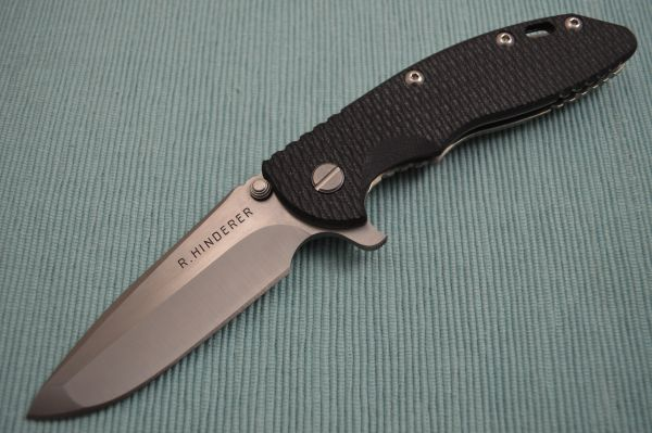"Rick Hinderer 3.5"" XM-18 Hand Ground Gen 2 Flipper Folding Knife (SOLD)"