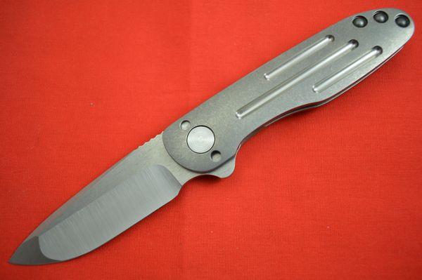 Direware TAILWHIP Flipper, Full Titanium Frame, Fullers, S110V Blade (SOLD)