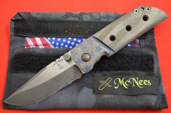Jonathan McNees TANJUN Patriot Folder with American Flag Theme (SOLD)
