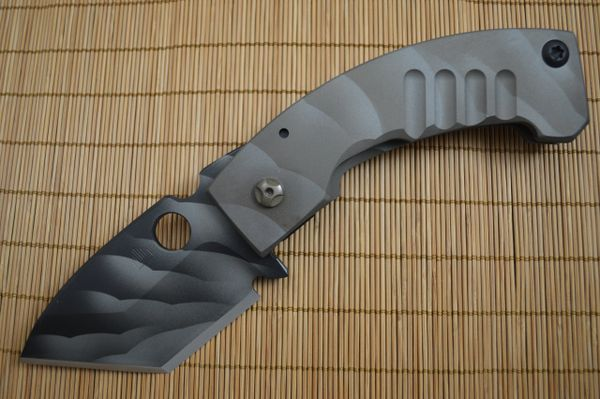 """NEW MODEL Crusader Forge """"Apex XL"""" Chisel Ground Tanto, Frame-Lock, 3D Finish (SOLD)"""