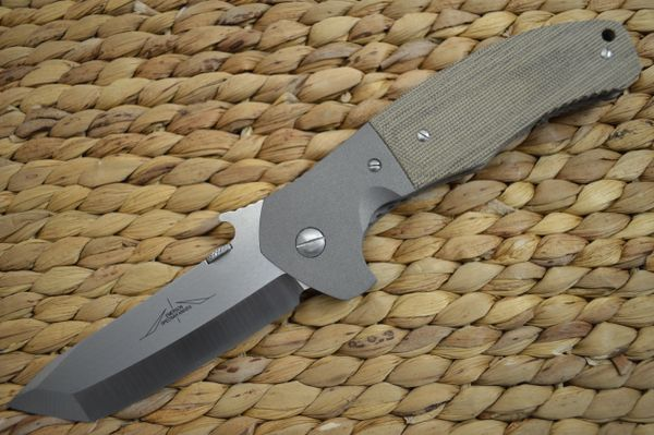 "Ernie Emerson Custom Bolstered ""Super Roadhouse"", Blade Show Lottery Knife (SOLD)"
