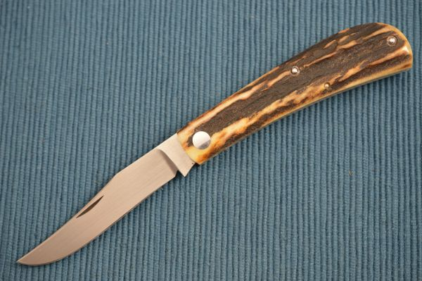 Steve Dunn M.S. Stag Slip Joint Folding Knife (SOLD)