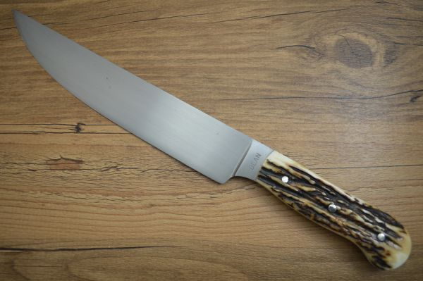 Harvey Dean, M.S. Stag Camp Knife (SOLD)