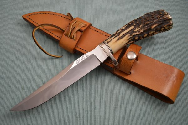 Gib Guignard, Cactus Forge, Stag Handled Bowie and Cowboy Sheath