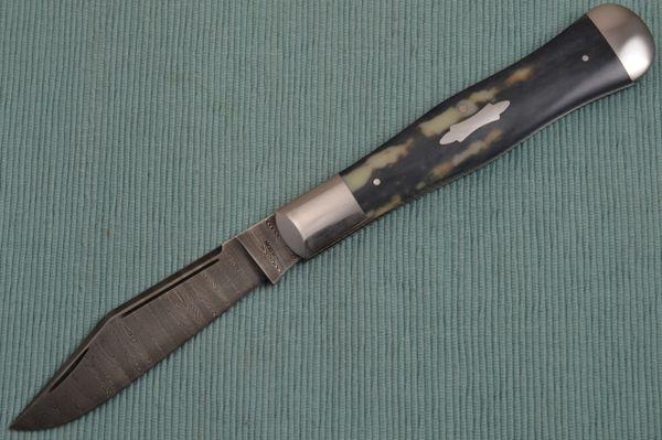 Harvey Dean, M.S. Large Fossilized Coke Bottle Slip-Joint Folding Knife (SOLD)
