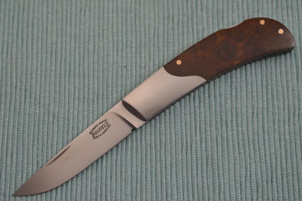 Jack Busfield Desert Ironwood Lock-Back Folding Knife (SOLD)