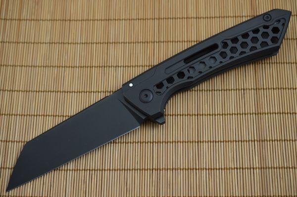 BUSTER, Jake Hoback Knives - Snecx Design Lab Collaboration, DLC BLACK Finish
