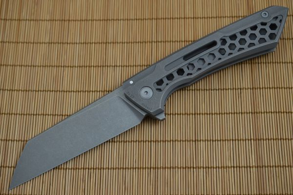 BUSTER, Jake Hoback Knives - Snecx Design Lab Collaboration, Sandblast Stonewash Finish (SOLD)