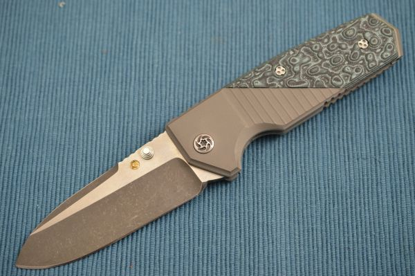 Allen Elishewitz Custom TANK Frame-Lock Folding Knife