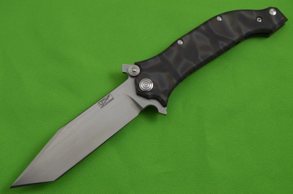 "Darrel Ralph Designs PROTOTYPE 4"" Tanto AXD Spring Assisted Frame-Lock Flipper"