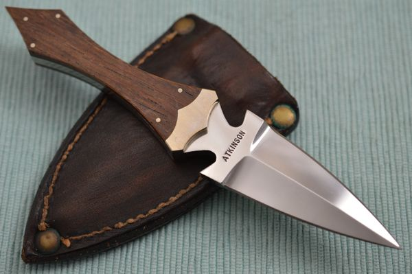 Dick Atkinson Custom Handmade Fixed Blade Dagger (SOLD)