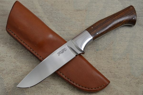 Ben Voss Drop Point Hunter Custom Fixed Blade Hunting Knife (SOLD)